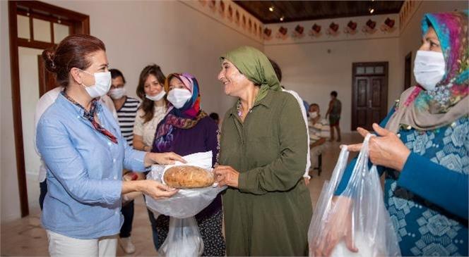 Mersinden Kadın Kooperatifi İlk Yılında 305 Kadının Hayatına Dokunarak Adımlarını Daha Sağlam Atıyor