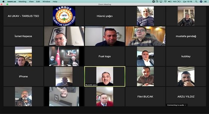 Tarsus Ticaret ve Sanayi Odası Yılın İlk Meclis Toplantısı