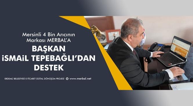 Çamlıyayla Belediye Başkanı İsmail Tepebağlı'dan 4 Bin Mersinli Arıcıya Destek