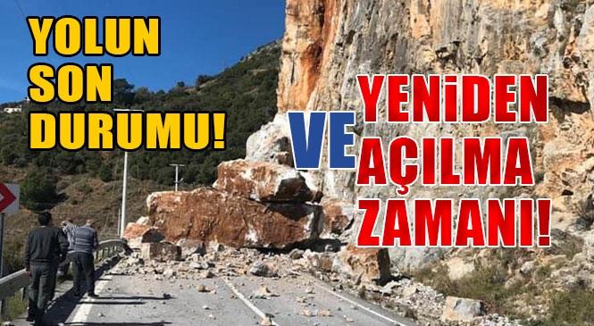 Yol Ne Durumda? Anamur - Antalya Karayolu (Mersin - Antalya Yolu) Heyelan Nedeni İle Ulaşıma Kapandı! Alternatif Güzergah da Kapatıldı