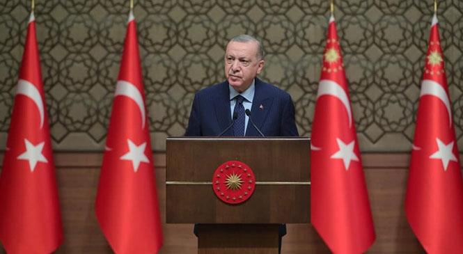 """Okullara Dair Açıklama Cumhurbaşkanı Erdoğan """"Köy Okullarında 15 Şubat'ta Eğitim Öğretimin Başlamasını Tamamladık"""""""