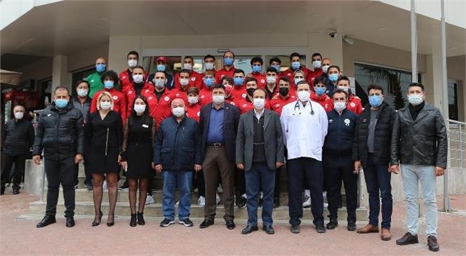"""""""Erdemli Belediyespor, Sağlık Taramasından Geçti"""""""