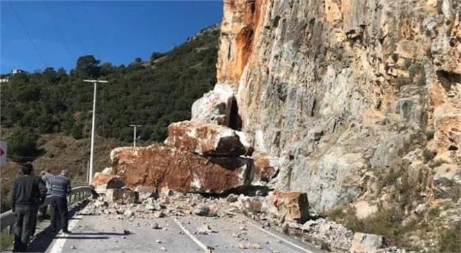 Patlatma Nedeni İle Mersin - Antalya Yolu 1 Gün Kapalı (Anamur - Gazipaşa Yolu)