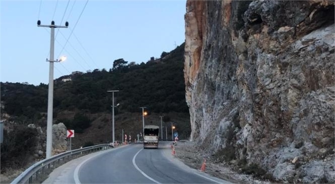 Anamur - Gazipaşa (Mersin - Antalya Yolu) Yolu Trafiğe Açıldı