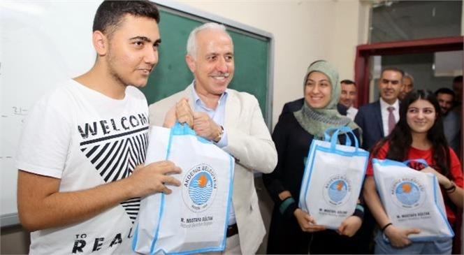 """""""Akdeniz Belediyesi Eğitim Akademisi'nden Öğrencilere Eğitim Hizmeti"""""""