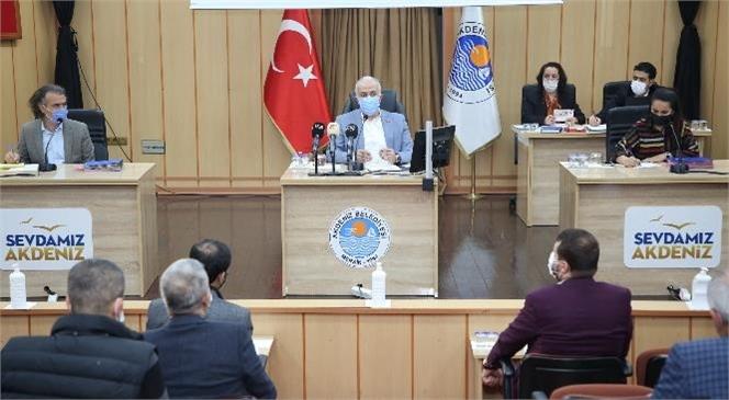 """Akdeniz Belediyesi'nde Ortalama İşçi Ücreti """"3 Bin 575 TL"""" Oldu"""