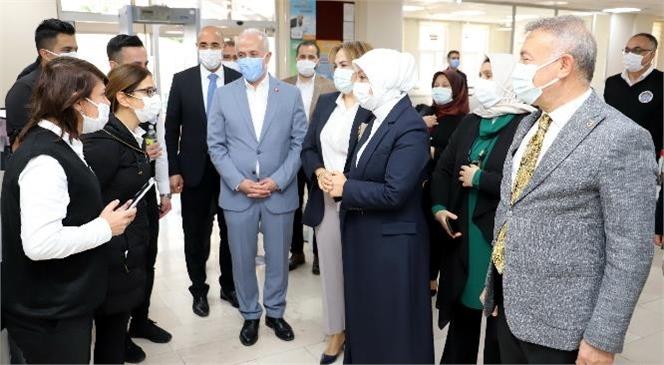 AK Parti Mkyk Kurulu Üyesi Öznur Çalık'tan Başkan Gültak'a Ziyaret