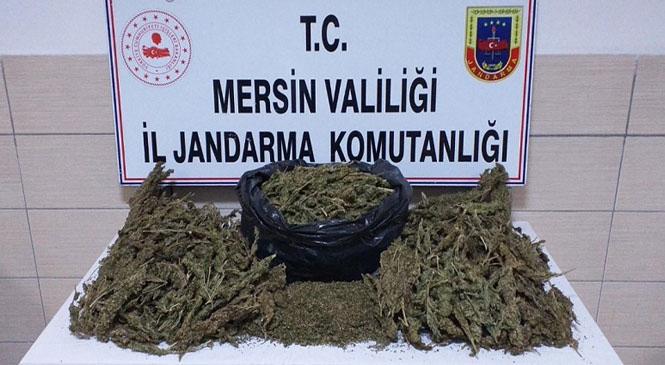 Mersin Akdeniz'de Elinde Bulundurduğu Uyuşturucuyu Satmak İçin Müşteri Ararken Operasyonla Yakalandı