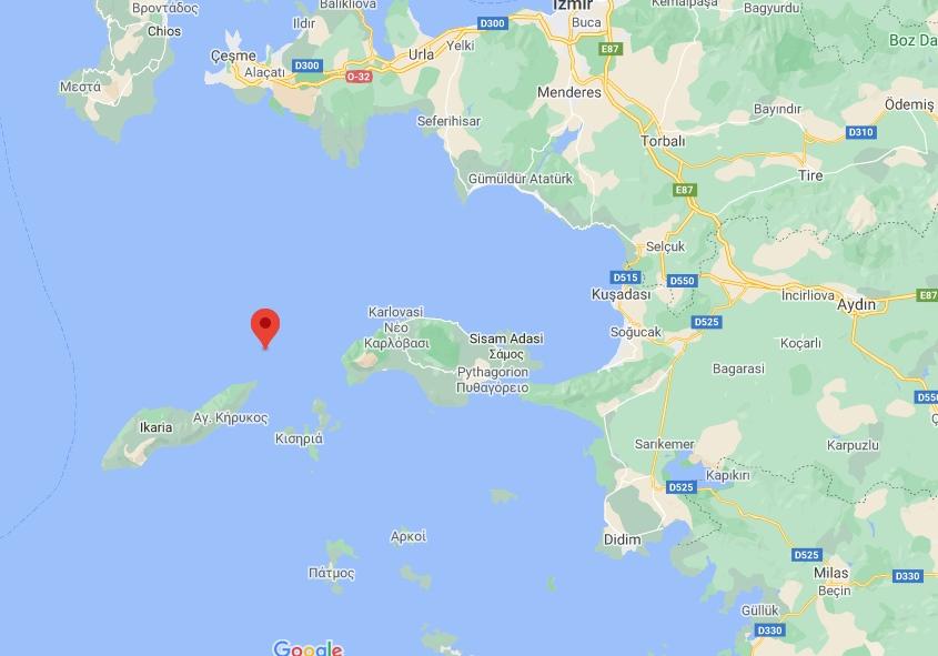 Merkez Üssü ONIKI ADALAR (Akdeniz) olan 4.3 Büyüklüğünde Deprem Meydana Geldi