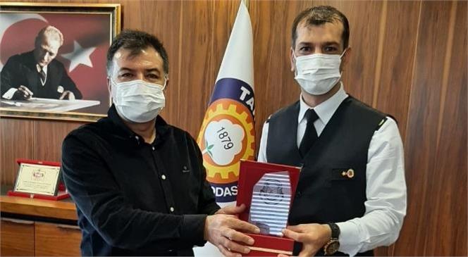 Binbaşı Marım'dan Tarsus TSO'ya Ziyaret