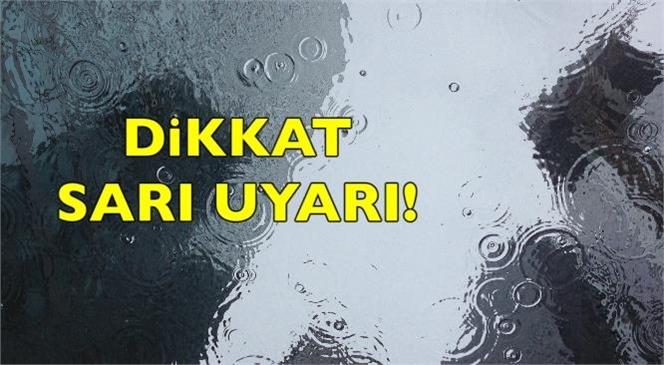 Meteoroloji'den Mersin'e Sarı Uyarı: Kuvvetli Yağış