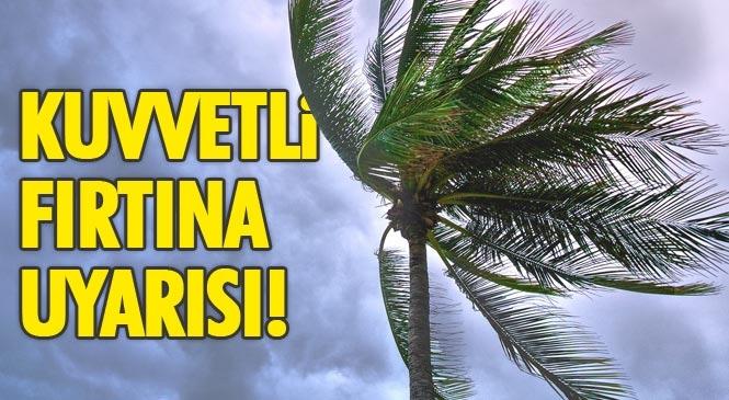 Dikkat Kuvvetli Fırtına Uyarısı! Meteoroloji Genel Müdürlüğünden Salı Akşam Saatlerinde Başlayacak Fırtına Konusunda Uyarı Yapıldı!
