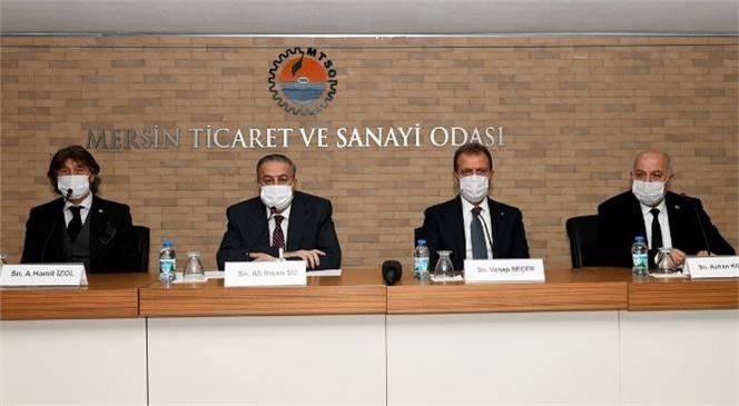 Vali Su, Kargıcık Turizm Bölgesi Bilgilendirme Toplantısında İş İnsanlarıyla Buluştu