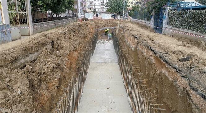 Gazi Mahallesi Yağmursuyu Hattına Kavuşuyor! MESKİ, Silifke'ye 4,5 Milyon Liralık Yağmursuyu Yatırımı Yapıyor