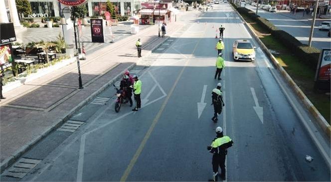"""Trafik Güvenliği Eylem Planının İlk Uygulama Aşaması """"İncinebilir Yol Kullanıcıları''na Mersin'de Yönelik Uygulama Yapıldı"""