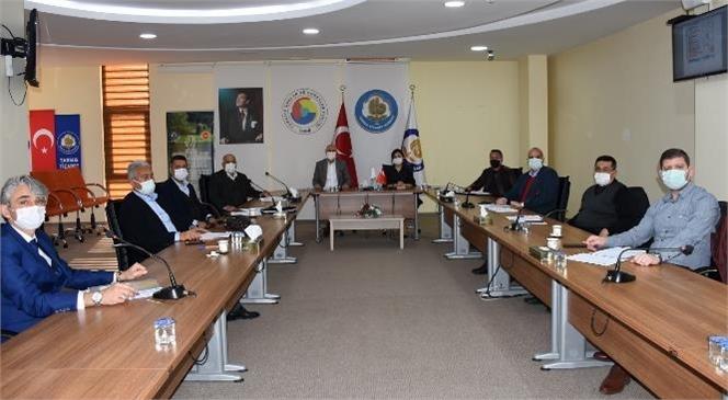 Tarsus Ticaret Borsası Meclisi, Meclis Başkan Yardımcısı Fatma Temel Başkanlığında Şubat Ayı Toplantısını Gerçekleştirdi