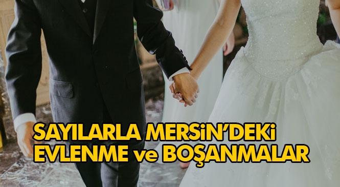 Mersin'de Evlenmeler de Boşanmalar da Azaldı! Ülke Genelinde Evlenen Çiftlerin Sayısı 2020 Yılında 487 Bin 270 Oldu