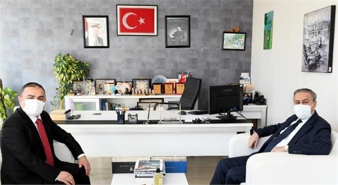 Vali Ali İhsan Su, Bik Mersin'i Ziyaret Etti