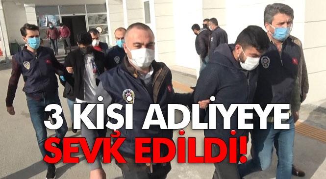 Mersin'de Yaşlı Adamın Öldürülerek Su Kuyusuna Atılması Olayında Şüpheli 3 Kişi Adliyeye Sevk Edildi