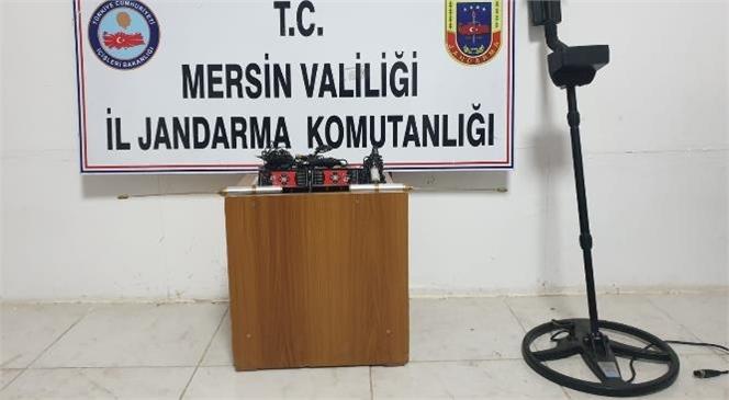 Mersin'in Gülnar İlçesinde Yasadışı Define Arayan Şahıslara Operasyon! 2 Şahıs Yakalandı ve 9 Eser Ele Geçirildi