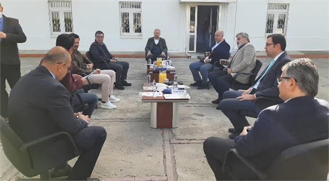 Başkan Koçak, Agropark'ın Toplantısına Katıldı