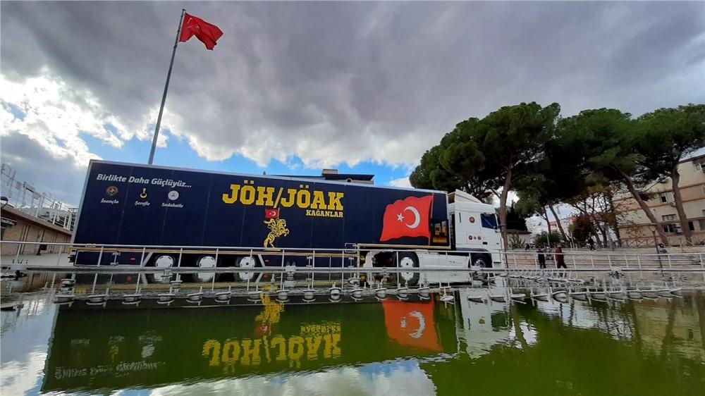 Mersin'e Gelecek Olan Jöak Store Mobil Satış Aracı 01-02 Mart 2021 Tarihleri Arasında Ziyaretçilerini Ağırlayacak