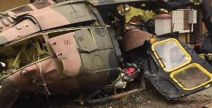 Kara Kuvvetlerine Ait Helikopter Düştü; 9 Şehit