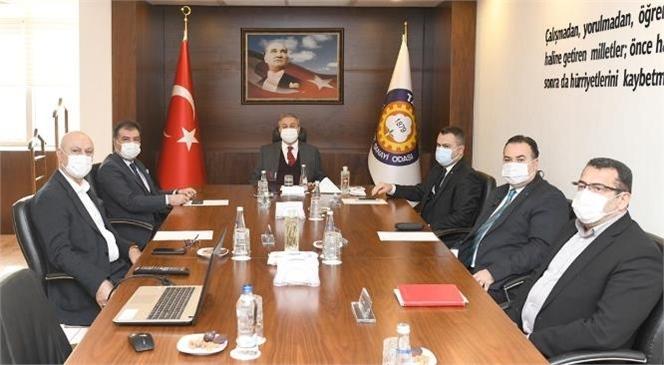 Vali Su, 'Tarsus OSB Yönetim Kurulu ve Müteşebbis Heyet Toplantısı'na Başkanlık Etti