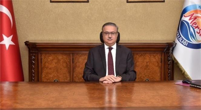 """Mersin Valisi Ali İhsan Su """"8 Mart Kadınlar Günü""""nü Kutladı"""