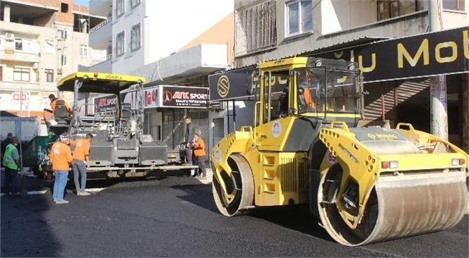 Büyükşehir'in Yol Yapım Ekipleri Vatandaşların Taleplerini Yerine Getiriyor