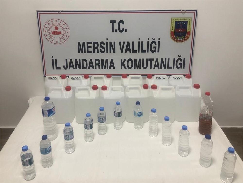 432 Litre Kaçak Alkol Ele Geçirildi
