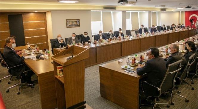 Tarsus TSO, Başkan Seçer İle İş Adamlarını Ağırladı
