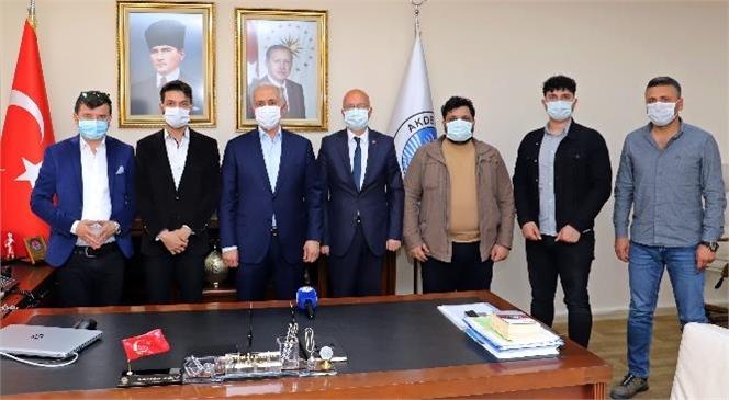 Tarsus Gazeteciler Cemiyeti'nden Başkan Gültak'a Ziyaret