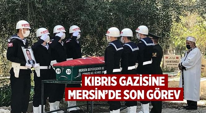 Kıbrıs Gazisi Kerim Karakaya Hayatını Kaybetti, Cenaze Silifke İlçesi Taşucu Mezarlığı'nda Son Yolculuğuna Uğurlandı