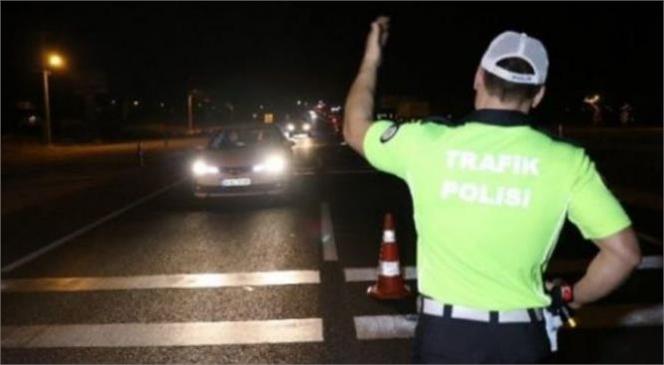 77 Araca 60 Bin 946 TL Cezai İşlem Uygulandı 10 Adet Tescilsiz Motosiklet Trafikten Men Edildi