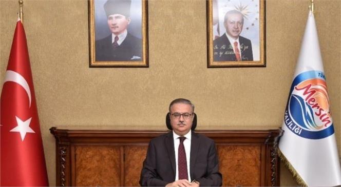 Vali Su'dan Atatürk'ün Mersin'e Gelişinin 98. Yıl Dönümü Mesajı