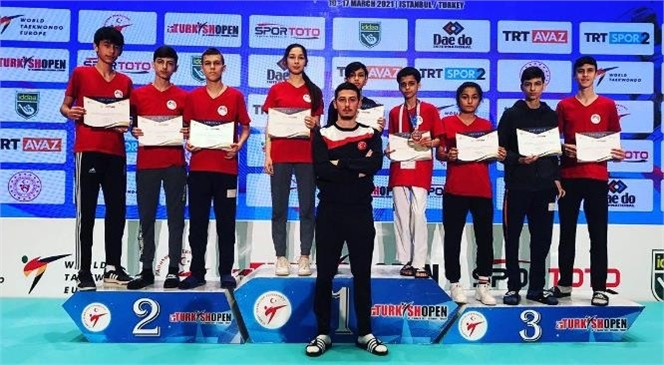 Mersin Büyükşehir Gsk Sporcularından Büyük Başarı