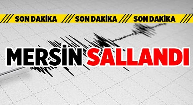 AFAD Verilerine Göre Mersin'in Mezitli İlçesinde 3.0 Şiddetinde Deprem Meydana Geldi