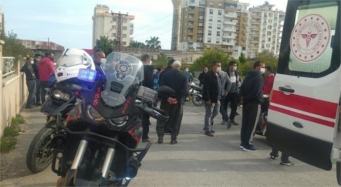 Mersin'de Yol Kontrolü Sırasında Tartışma, 1 Kişi Gözaltına Alındı