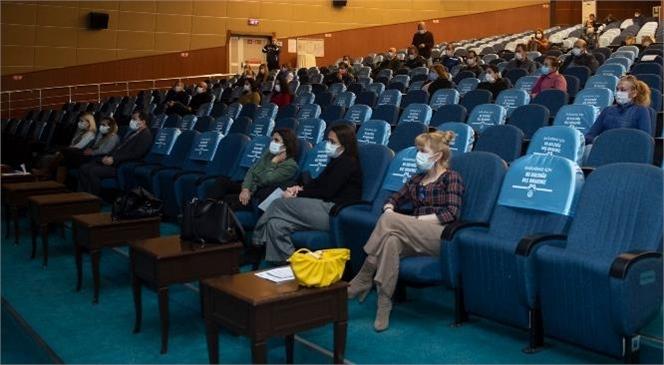 AFAD Ekibi, Mersin Büyükşehir Personeline 'Afet Bilinci Eğitimi' Verdi