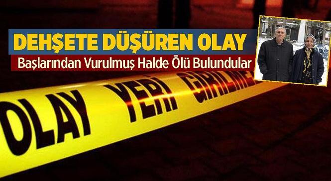 Adana'nın Karaisalı İlçesi Tümenli Mahallesinde Fevzi-Elif Atay Çifti Evlerinde Ölü Bulundu