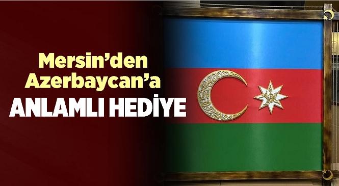 Anamur İlçesi Halk Eğitim Kursiyeri Hamdi Gökmenoğlu'ndan Azerbaycan Cumhurbaşkanı Aliyev'e Anlamlı Hediye
