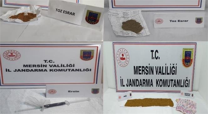 Mersin'de Uyuşturucu Tacirlerine Operasyon