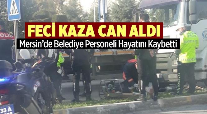 Akdeniz Belediyesi Personeli Ertuğrul Özay Trafik Kazasında Hayatını Kaybetti