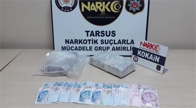 Şüphelenilen Aracın Hava Yastığında 2 Kilo Kokain Ele Geçirildi