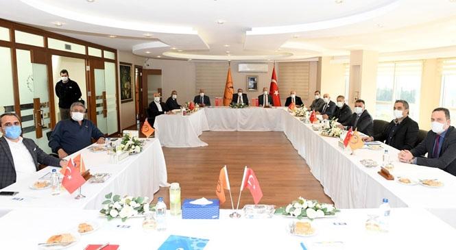 Vali Su, Mersin-Tarsus OSB Müteşebbis Heyet Toplantısına Başkanlık Etti