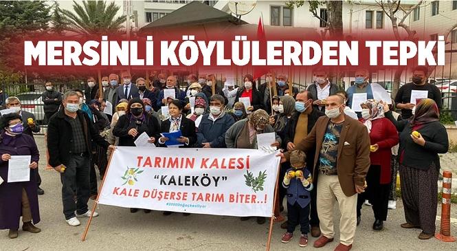 Kaleköy'de Yapılması Planlanan Sanayi Sitesine Tepkiler Büyüyor