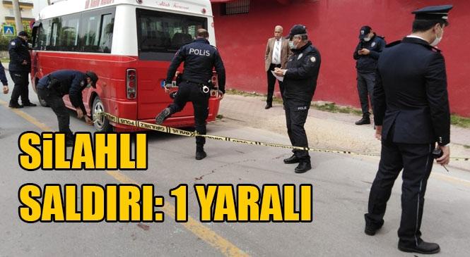 Mersin Tarsus'ta Meydana Gelen Olayda Minibüs Sürücüsü Tabanca İle İki Ayağından Vurularak Yaralandı