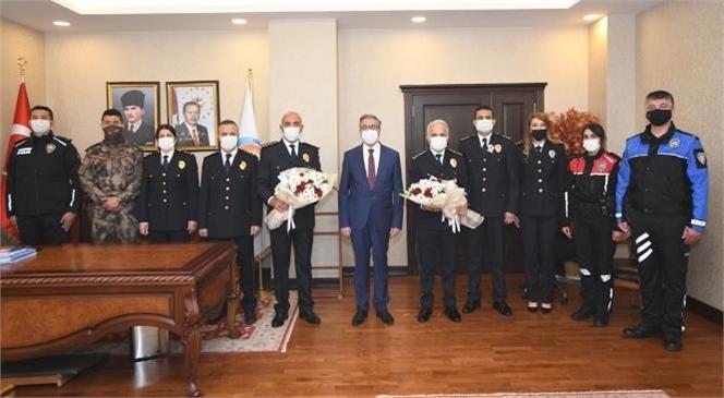 Vali Su'ya 'Polis Haftası' Ziyareti