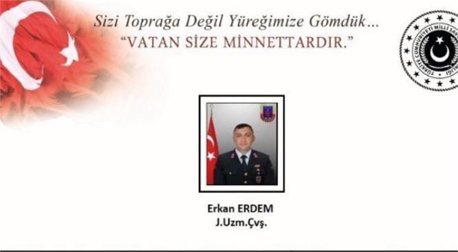 PKK'ya Yönelik Operasyonda Uzman Çavuş Şehit Oldu